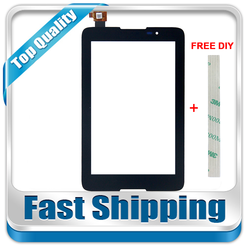 купить New For Lenovo A7-50 A3500 A3500-F A3500-H A3500-HV Replacement Touch Screen Digitizer Glass 7-inch Black по цене 544.66 рублей