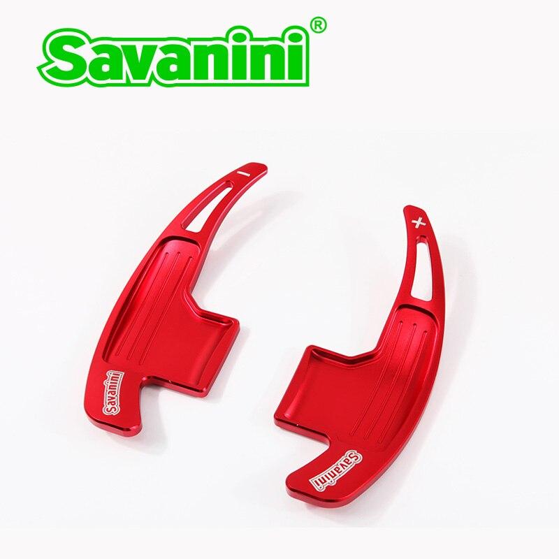 Savanini 2pcs Αλουμινένιο τιμόνι αλλαγής - Ανταλλακτικά αυτοκινήτων - Φωτογραφία 3
