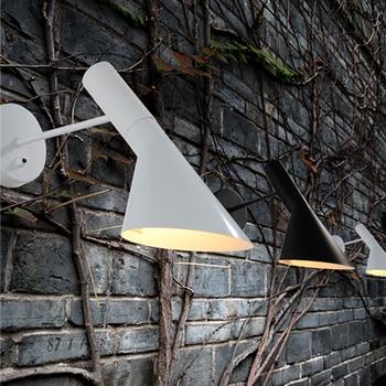 Modern Creative AJ Wall Lamp Sconce E14 Arne Jacobsen Classic Lights Living Room Bedroom Den Wall Sconce
