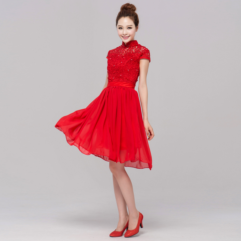 Vintage Red Short Dresses