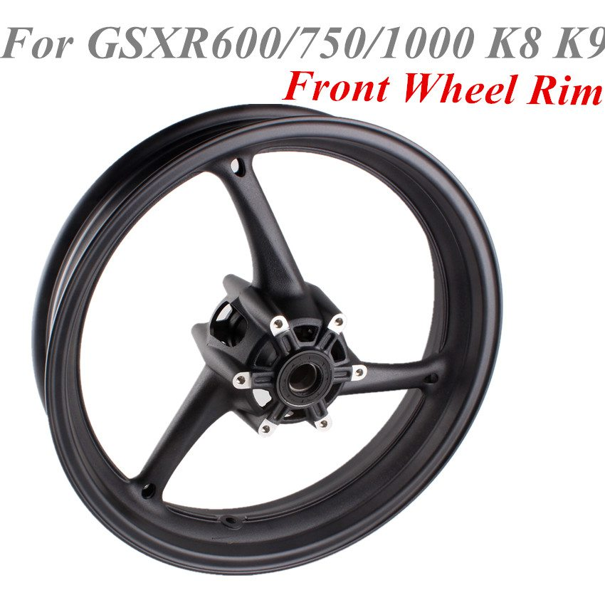 For Suzuki GSXR600/750 K8 2008 2010 GSXR1000 K9 2009 2011 Motorcycle Front Wheel Rim Black