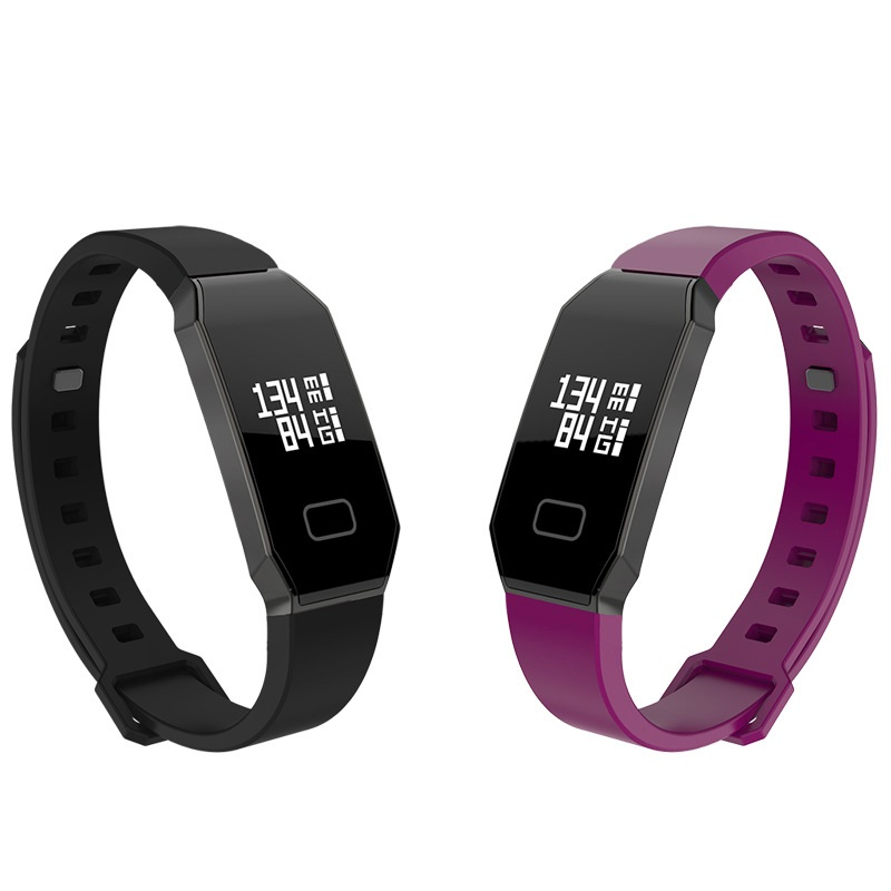 YourTribe E02 Smart Band Fitness Tracker Blood Pressure Heart Rate Monitor Bluetooth 4 0 Smart Wristabands