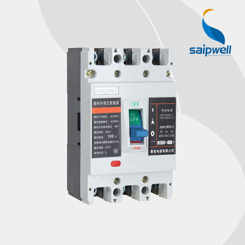 Wholesale Saipwell SPM2-400L 3P 225-400A 400-800V medium voltage electronic circuit breaker mccb for commercial air cleanerWholesale Saipwell SPM2-400L 3P 225-400A 400-800V medium voltage electronic circuit breaker mccb for commercial air cleaner