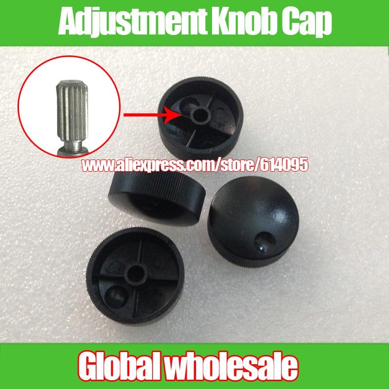 13mm Audio Volume Adjustment Knob Cap 10pcs 32.5 Potentiometer Encoder Band Switch Plastic Knob Cap Flower Axis Hole