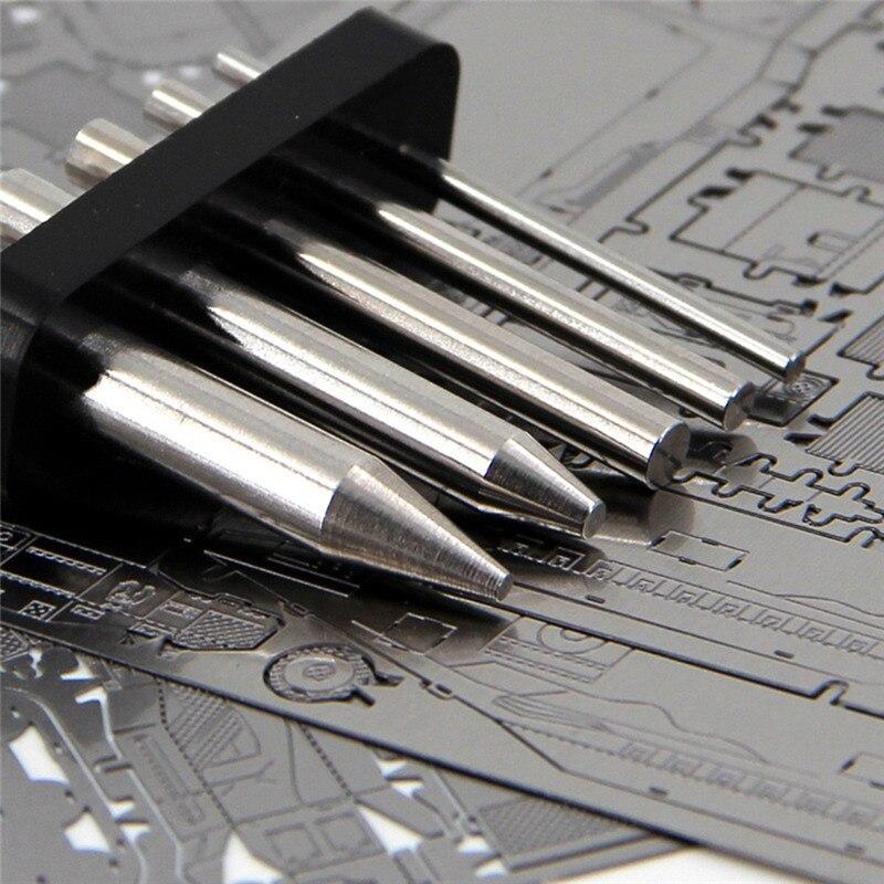 1-5pcs/Lot Bending Tool For Make To 3d Metal Puzzle Cylinder Making Tools Help You Make The Model DIY 3D Mechanical Model