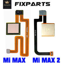 Xiaomi Mi MAX 3 FingerPrint Sensor Button Touch ID Scanner Key Flex Cable Ribbon For Xiaomi Mi Max 2 Home Button Replace Parts(China)