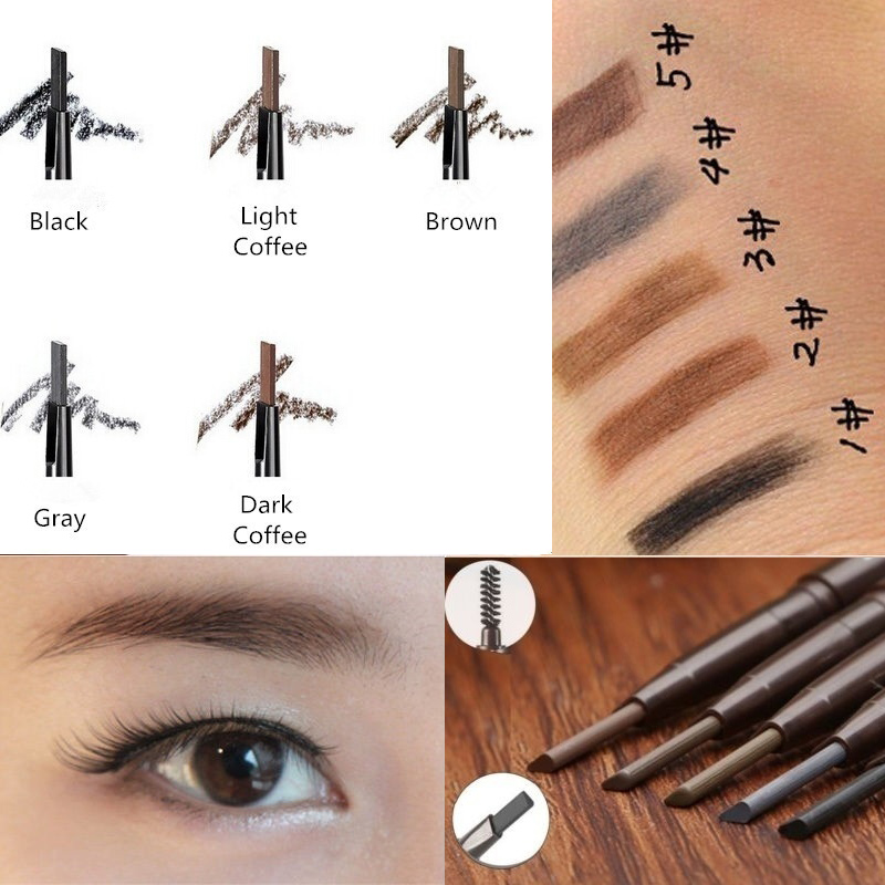 Fashion Waterproof Long-lasting Eye Liner Eyebrow Pencil Cheap Eye Makeup Cosmetic Beauty Tools Best Gift For Women