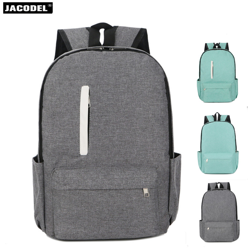 Jacodel Oxford cloth Men Women Backpack College Students High Middle School Bags For Teenager Boy Girls Laptop Travel Backpacks