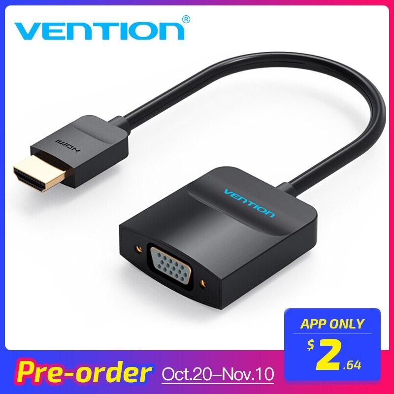 Intervento HDMI a VGA Cavo Adattatore per Xbox PS3 PS4 Del Computer Portatile TV Box di Sostegno 1080 p Digitale Analogico Audio VGA al Convertitore di HDMI