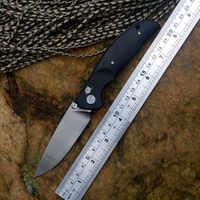 YSTART JIN02 Messer Tasche Klappmesser D2 Satin Klinge Achsen System G10 griff 4 Farben Jagd Messer Überleben Im Freien Werkzeuge