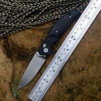 YSTART JIN02 Knife Pocket Folding Knives D2 Satin Blade Axis System G10 handle 4 Colors Hunting Knives Survival Outdoor Tools