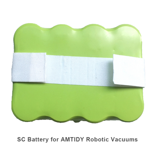 Ni-MH 2200mAh Rechargeable Battery For Amtidy Robotic Vacuums