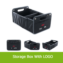 Best Heavy Duty Construction Black Folding Car Trunk Organizer Collapsible Cargo Storage Container for Land Rover