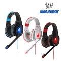 Kotion each g4000 gaming headset jogo headphone com microfone led com cancelamento de ruído fones de ouvido fone de ouvido com fio para computador pc