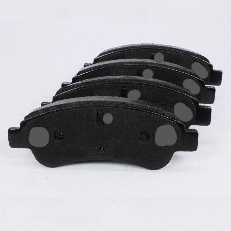 Kit de plaquettes de frein avant/chaussures de frein arrière pour PEUGEOT 206 307 chinois CITROEN C3 C4 Auto voiture moteur partie 424243/424243