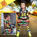 New fashion maya kids adult set dance wear Costumes Jamaica Totem sport suits Hip Hop harem pants & sweatshirt