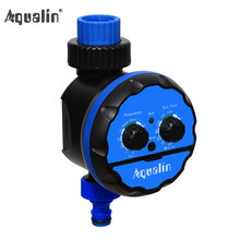 Watering Timer Irrigation Garden Water Timer Waterproof Controller for Garden,Yard with Rain Delay Function #21039(China)