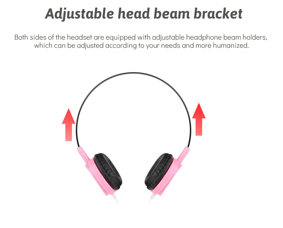 Wired Headphone With Microphone 3.5mm Stereo Music Headphones Portable Sport Headphone For Mobile Phone Computer PC (6)