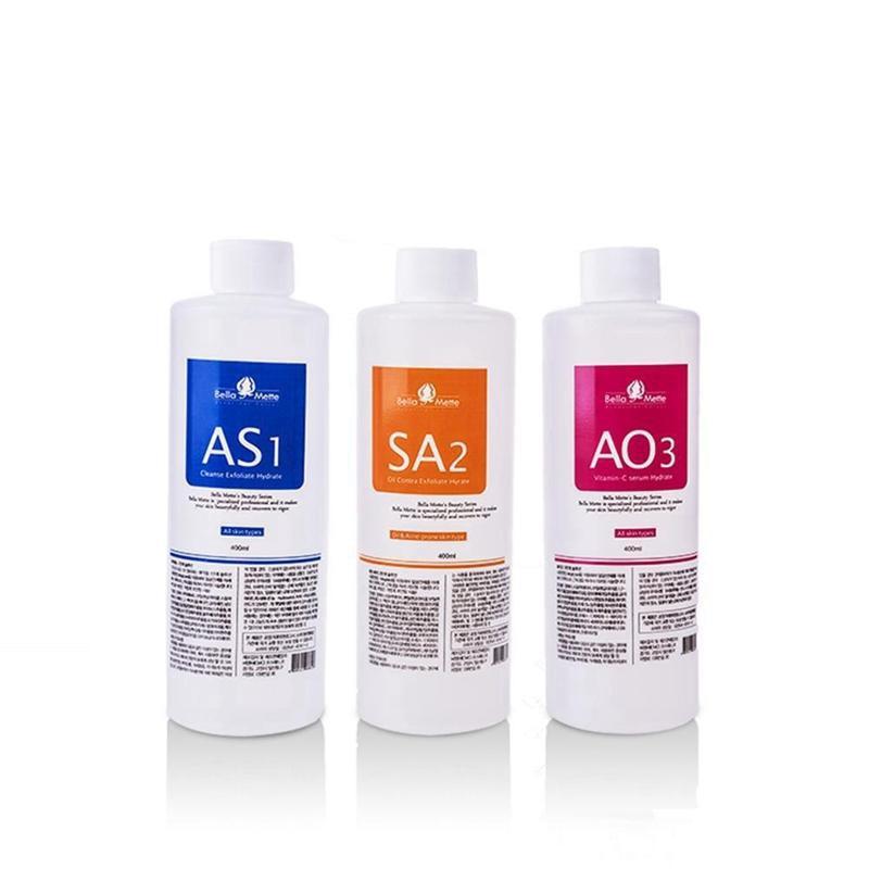 Aqua Peeling Solution 400ml Per Bottle Aqua Facial Serum Hydra Facial Solution Use For Hydro Facial Dermabrasion Machine