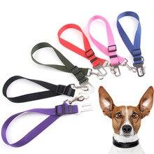 Регулируемый для собаки кошки ремня автокресла высокого качества безопасные поводки ремень безопасности для машины ремни безопасности для животных удерживающие страховочный шнурок для маленьких, средних и больших собак