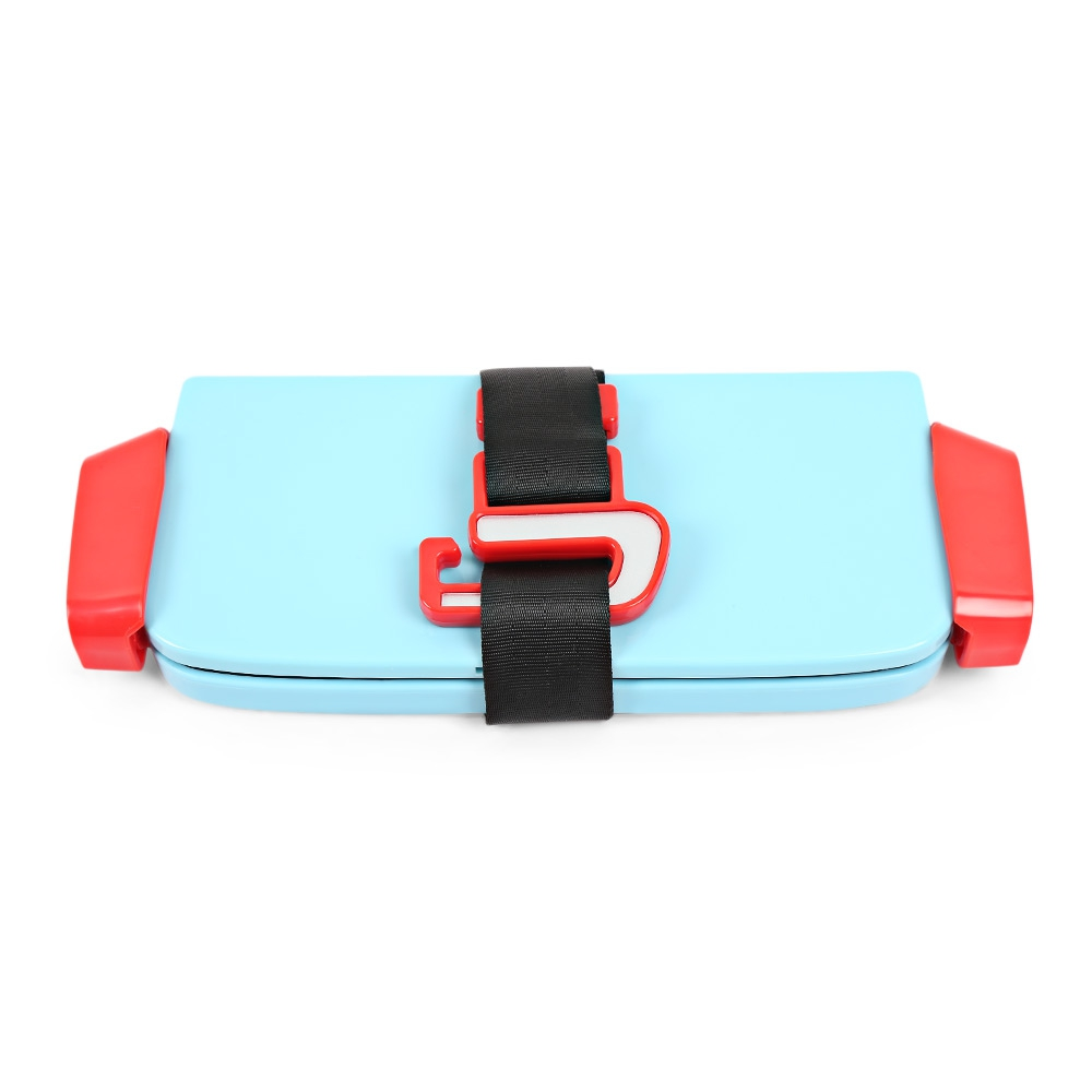 Portable Foldable Children Kids Safety Booster Car Seat Adjustable Strap Car Seat Harness Pad Cushion Toddlers Kids Safe Seats (2)
