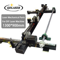 Single Head Laser Mechanical Parts Set Kits Spare Parts 1300mm*900mm for DIY 1390 CO2 Laser Engraving Cutting Machine