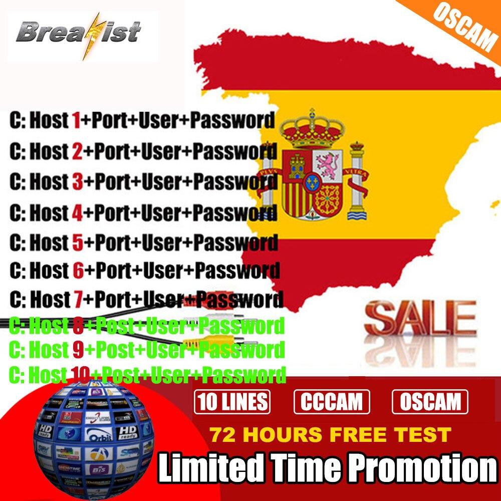 Stable HD Server Cccam Cline For 1 Year Europe Spain Oscam Germany For Gtmedia V8 Nova