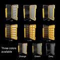 Cajas de mosca de pesca A prueba de agua ventik para moscas espuma A/B/D/6C caja de aparejos de pesca de almacenamiento súper delgado para mantener moscas y anzuelos