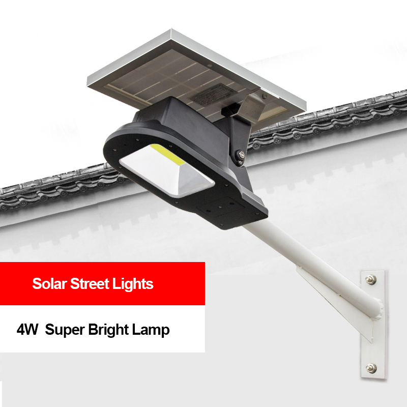 Upgraded Solar Garden Lamp 10W COB LED Solar Lights Waterproof Outdoor Pathway Lighting for Rural Landscape