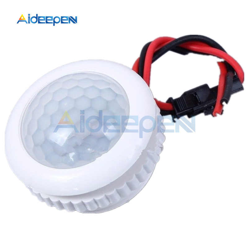 220 V 50Hz Pir IR Inframerah Manusia Induksi Switch Kontrol Lampu Ceiling Light MOTION SENSOR Pada Off 3 -6 M Top Penginderaan