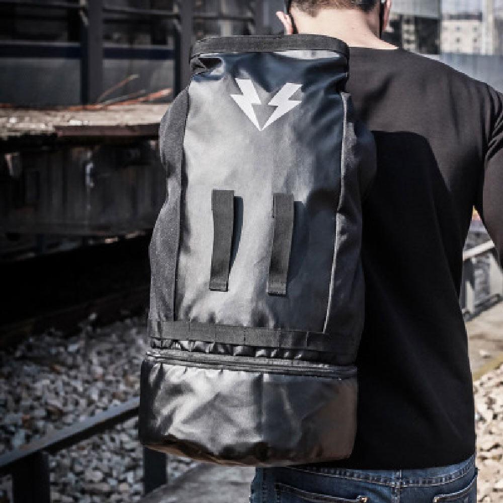New Bucket bag Basketball Sports Shoulder Travel Male Korean Version Of The Tide Fitness Custom
