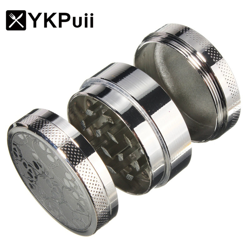 3 4 5 Layers Herb-Spice Grinder Metal Plate Magnetic Pollinas