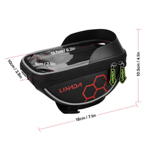 Bicycle Bag with Touch Screen