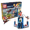 2016 Limited Edition LEPIN Knights Building Blocks Merlok's Library 2.0 Buildable Figures Compatible Nexus Legoelieds