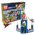 2016 edición limitada best LEPIN Knights Building Blocks Merlok de Library 2.0 Buildable figuras Compatible Nexus Legoelieds