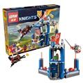 2016 edición limitada best LEPIN Knights Building Blocks Merlok de Library 2.0 Buildable figuras Compatible Nexus Legoelieds