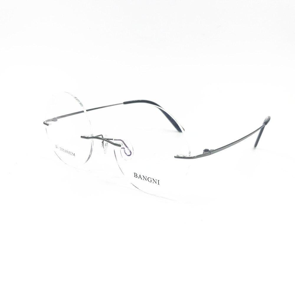 Optische Männer Runde licht Blau Licht gold Mann Frauen Grau Ultra Brillen Brille Titan silber Cubojue Randlose Anti Photochormic Rqg5UU