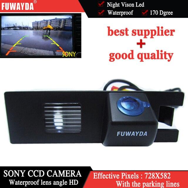 FUWAYDA Sony CCD Chip car rear view camera for Opel Vectra Astra Zafira Corsa Insignia Meriva Antara Vivaro Vauxhall waterproof