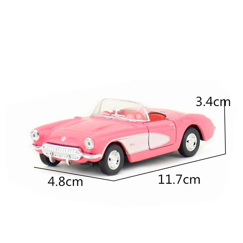 Welly Tỉ Lệ 1/36 Xe Ô Tô Đồ Chơi Mô Hình 1957 Xe Chevrolet Corvette Diecast Kim Loại Xe Ô Tô Đồ Chơi Mô Hình Cho Bộ Sưu Tập, Quà Tặng Trẻ Em