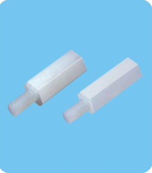 1000pcs/lot  Hex Tapped spacer      HTS-413 Length:13MM   Tapped hole:M4 free shipping nylon pcb support spacer