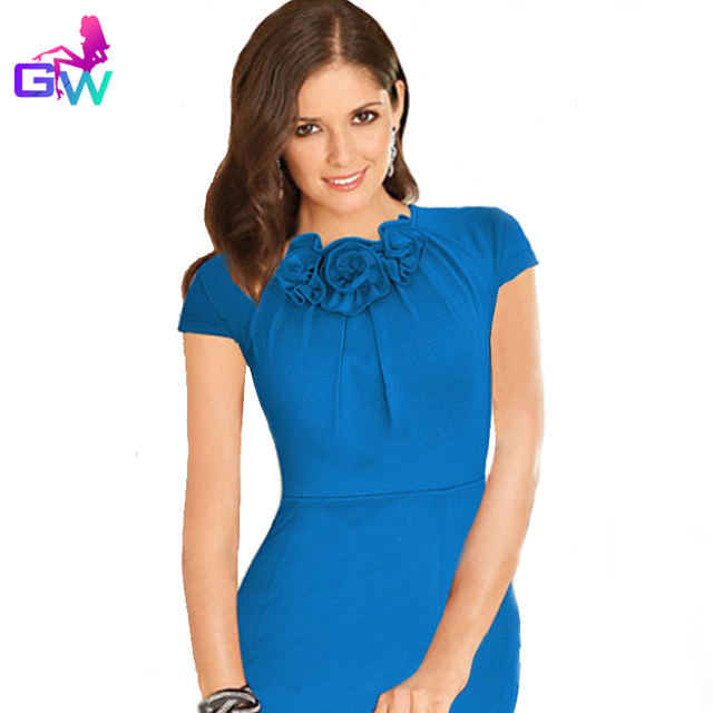 a7cd0fd2d7 Fishtail Hem Dress Women 2015 Red Bodycon Vestido Summer Elegant Wear To  Work Vestidos Femininos Business Meeting Office Dress