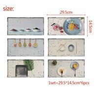 3D Sống Động Xoài Hoa Quả Thực Phẩm Nền Nhà Bếp Tủ Lạnh Dán Cửa Trang Trí Kids Room Tường Sticker Trên Tường Trang Trí Nhà