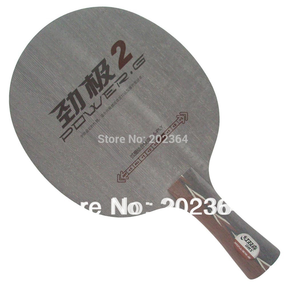 ФОТО DHS POWER.G2 PG2 PG 2 PG.2 Loop+Attack OFF Table Tennis Blade for PingPong Racket