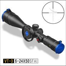 цены на Discovery VT-3 6-24X50 SFAI First Focal Plane Tactical Rifle Scope  Mil Dot Rangefinder Reticle  в интернет-магазинах