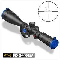 Entdeckung VT-3 6-24X50 SFAI Erste Brennebene Taktische Zielfernrohr Mil Dot Entfernungsmesser Absehen