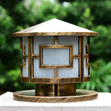 Купить с кэшбэком outdoor Europe waterproof lighting pillar lamp,garden villa backyard chapiter light IP55 E27 column lamp WCS-OCL0033