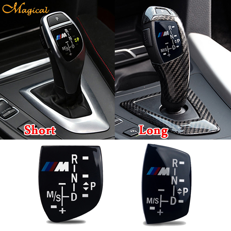 M Sport Power Gear Sticker Shift Knob Panel Cover For Bmw