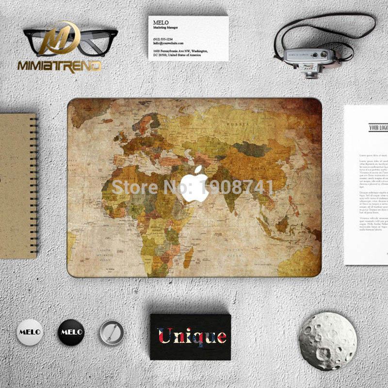 Online get cheap stickers macbook 13 world aliexpress mimiatrend world map positive decal laptop skin for apple macbook air pro retina 11 13 133 gumiabroncs Image collections