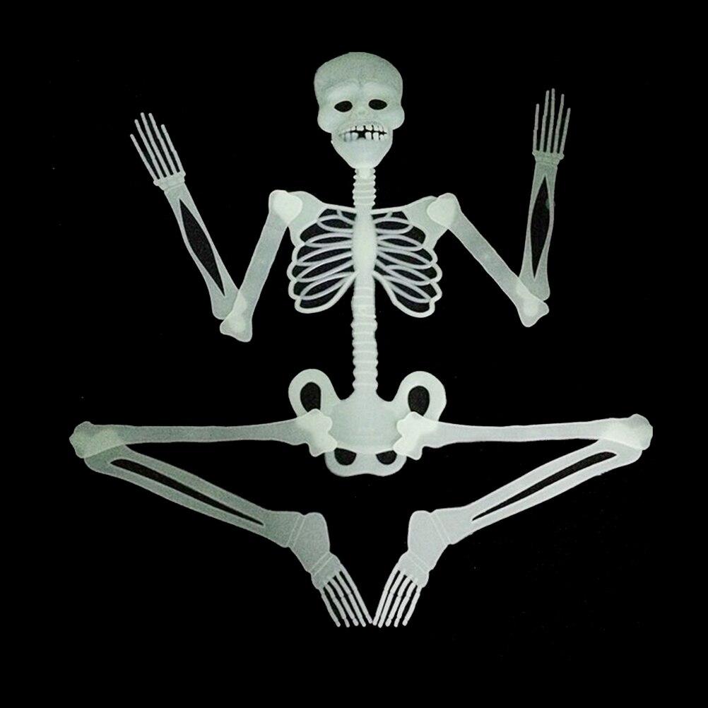 1PCS Luminous Glow In The Dark Human Skeleton Hanging