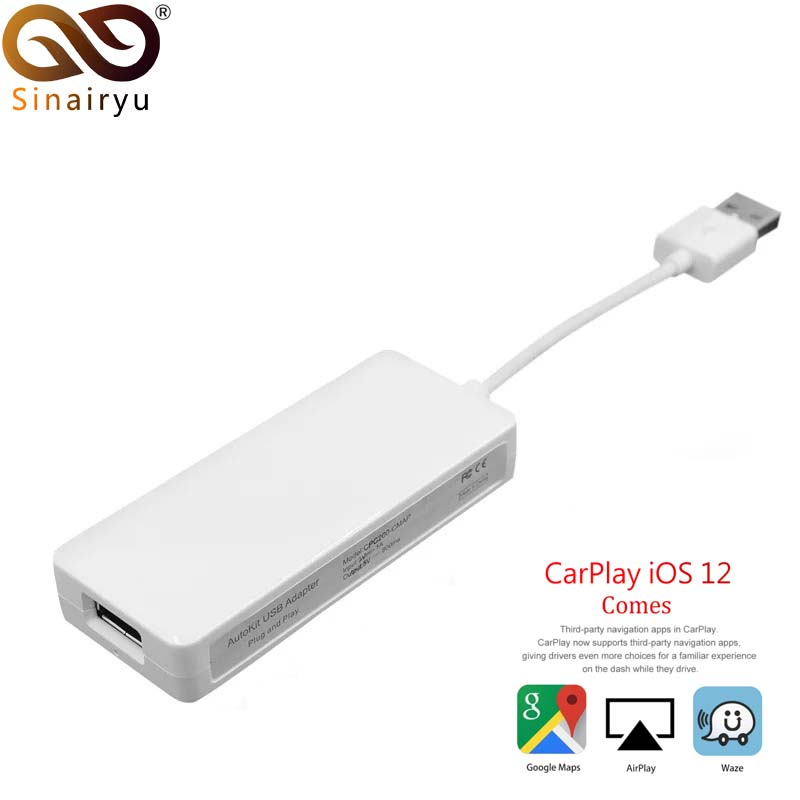 CarLink USB Smart Link Apple CarPlay Dongle für Android Navigation Player Mini USB Carplay Stick mit Android Auto